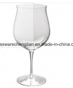 Hand Made High Quality Wine Glass (B-WG059) pictures & photos