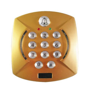 Golden Color Single Door Keypad pictures & photos