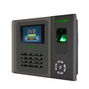 TFT Color Screen Fingerprint RFID Time Attendance with Li-Battery (GT200) pictures & photos