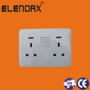 PC Material UK Standard Sockets &Switches (B6008) pictures & photos