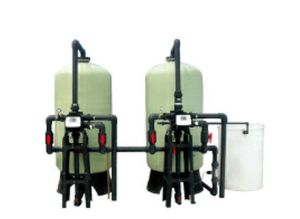 Dual Tank Continuous 24 Hours Running Automatic Water Softener pictures & photos
