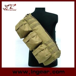 Military Tactical Single Shoulder Bag Airsoft Camouflage Shoulder Go Pack Bag pictures & photos