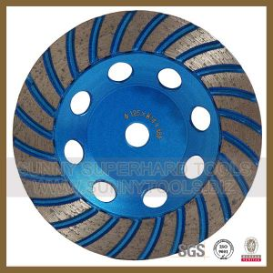 2015 Hot Sale Diamond Cup Wheel for Stone Concrete (S-DCW-1011) pictures & photos