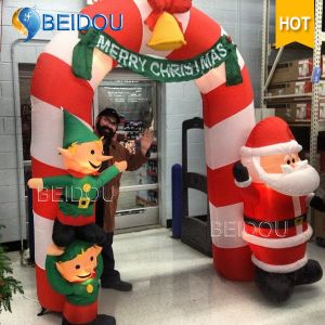 wholesale christmas gift decorations advertising inflatable christmas arch - Christmas Arch Decorations