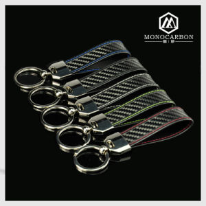 High Quality Carbon Fiber Metal Key Tag