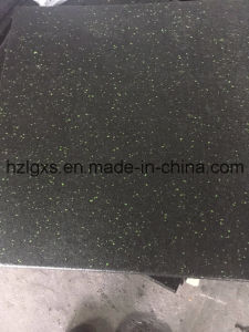 Green DOT Composite Gym Flooring Rubber Tiles/Mats pictures & photos