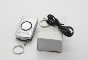 120dB Germany Personal Alarm Anti Rape Anti Panic Alarm with Belt Keyring pictures & photos