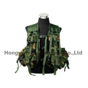 Tactical Paintball Combat Soft Gear Molle Airsoft Military Vest (HY-V037)