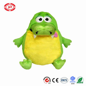 Green Yellow Belly Cute Gator Plush Tummystuffer Kids Gift Toy pictures & photos