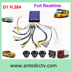 1/2/4 Camera in Car Video Surveillance System for Vehicles Buses Monitoring pictures & photos