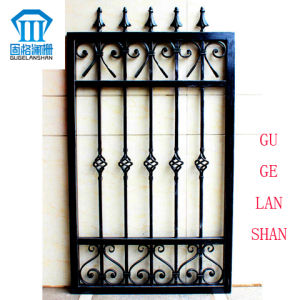 High Quality Crafted Wrought Single Iron Fence 036 pictures & photos