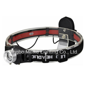 CREE LED Portable Camping Outdoor Light Zoom Headlamp (MK-3368)