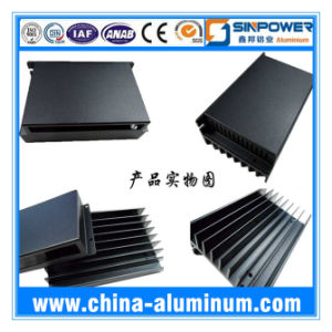 Anodizing 6063 Material Extruded Aluminium Shell