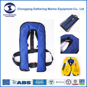 Solas Automatic Double Chamber Inflatable Life Jacket pictures & photos