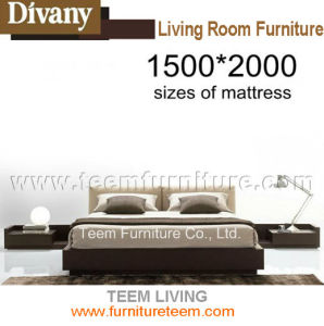 Modern Bed King Size Bed for Home Furniture pictures & photos
