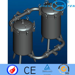 High Precision Duplex Vertical Basket Type Filter pictures & photos