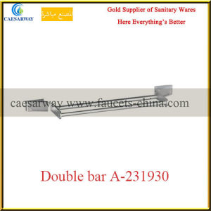 Sanitary Ware Bathroom Brass Fittings Double Bar pictures & photos
