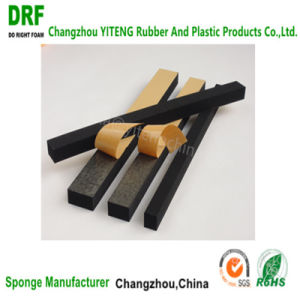 Closed Cell Neoprene Rubber Foam with Adhesive for Auto Seal Strip Cr Foam Sealing pictures & photos