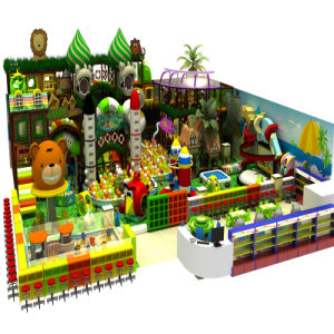New Design Ce Safe Indoor Playground