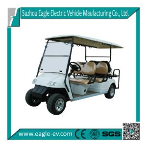 Electric Utility Buggy, Eg2048ksf, 6 Seater, with Jump Seat, 48V 4kw DC Motor pictures & photos