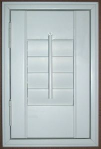 Manual Basswood Interior Window Wood Shutters for Houses Window