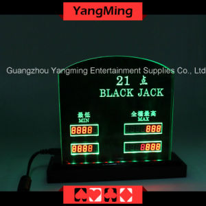 Blackjack LED Electronic Table Limit (YM-LC07) pictures & photos