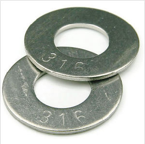 M1-M24 316 Stainless Steel Flat Washers Professional Factories pictures & photos
