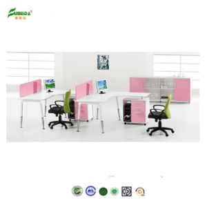 Office Furniture / Pink Wooden Office Workstation pictures & photos