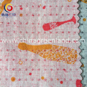 Imitation of Cotton Linen Printed Jacquard Fabric for Garment (GLLML152) pictures & photos