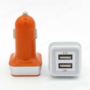 Wholesale Mini USB Adapter Dual Car Charger for Smart Phones