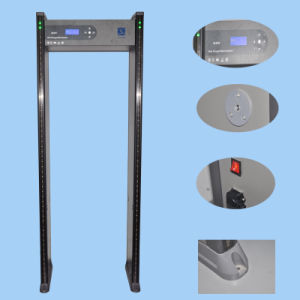Multi-Zones Selection Security Gates Metal Detector pictures & photos