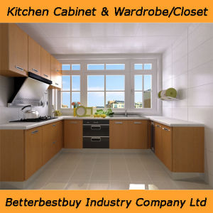 Melamine Finishing Kitchen Cabinet pictures & photos