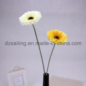Single Gerbera Artificial Flower for Wedding/Home/Garden Decoration (SF13860)
