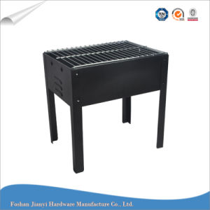 Simple Design Square Shaped Outdoor Barbecue Grill