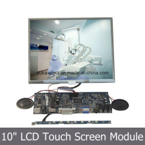 "10"" Resistive Touchscreen with 4: 3 Display 1024*768 SKD Monitor pictures & photos"