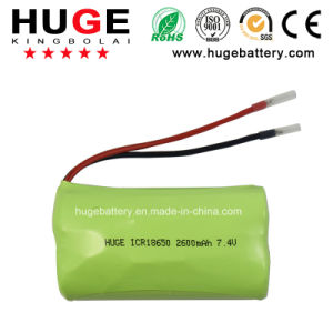 High Quality 3.7V Rechargeable Lithium 18650 Battery pictures & photos