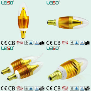 5W CREE Chip Scob 90ra E14 Candle Bulb (LS-B305-SB-CWW/CW) pictures & photos