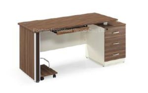 Modern Design Wooden Computer Desk/Computer Table/Office Desk Furniture (HF-DB016) pictures & photos