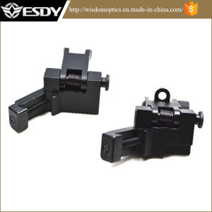 Ar15 Front and Rear Flip up 45 Degree Rapid Transition Backup Iron Sight pictures & photos