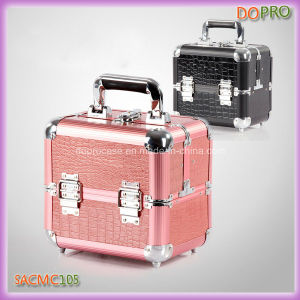China Cute Outlook Small Cosmetic Box Portable Makeup Vanity Case  (SACMC105) - China Vanity Case 3163e748073a