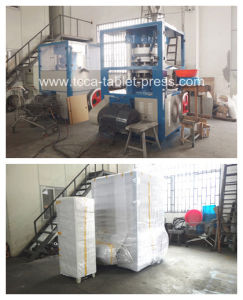 3 Inch TCCA Hydraulic Powder Tableting Compaction Machine pictures & photos