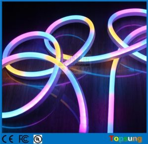 China amazing digital rgb color change led neon flex rope lighting amazing digital rgb color change led neon flex rope lighting aloadofball Images