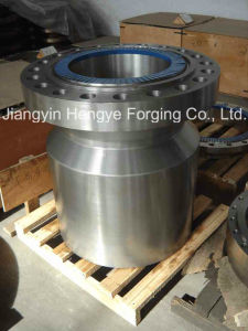 Hot Forged Structure Alloy Steel Nozzle Flange of Material 42CrMo