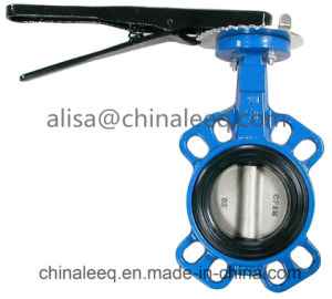 JIS 10k Cast Iron Wafer Butterfly Valve
