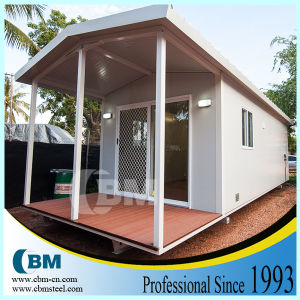 Prefabricated Luxury Living Container House Villa pH9833-11