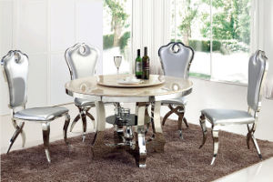 Cheap Wholesale Furniture Dining Room Table Set Round Glass For Sale