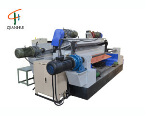 8 Feet Spindleless Wood Log Veneer Rotaryling Lathe Machine
