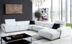 Hot Modern Sectional Italian Leather Couch Sofa Made in China 8010#