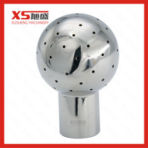Stainless Steel Ss304 Double Tri Clamp Rotary Tank Washing Ball pictures & photos