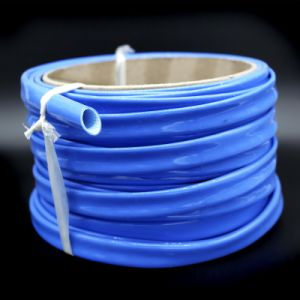High Voltage Silicone Rubber Extruded Fiberglass Sleeving pictures & photos